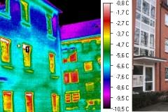 Durchfeuchtung Fassade und Wohnungen durch Fenster