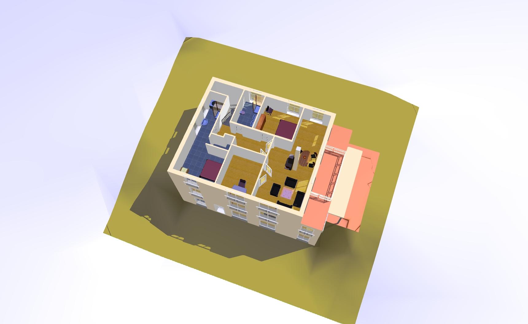 kfw effizienzhaus haus am hang architekt. Black Bedroom Furniture Sets. Home Design Ideas